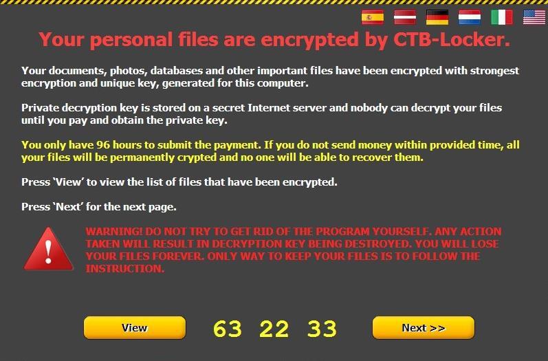 بازیابی فایل های رمز شده توسط CTB-Locker