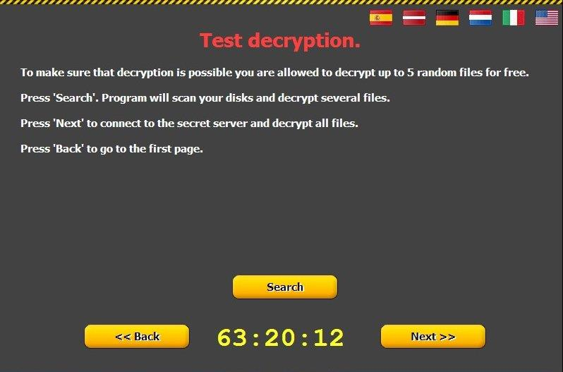 بازیابی فایل های رمز شده توسط CTB-Locker در مرکز ریکاوری اطلاعات امین پایتخت صورت میپذیرد