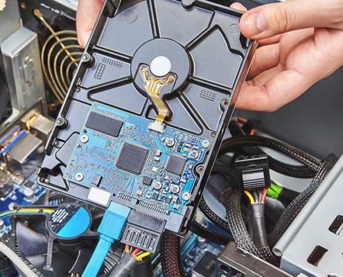 بازیابی و ریکاوری هارد دیسک